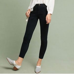 ANTHRO Hei Hei Black Utility Slim Pants